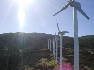 Wind Park in the north of La Palma (2004)