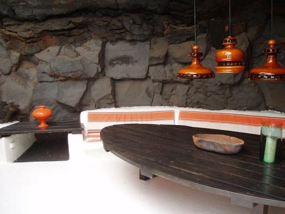 Lava bubble room, César Manrique foundation.
