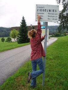 z-trip, found sign.