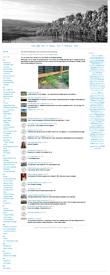 New website: Category page.