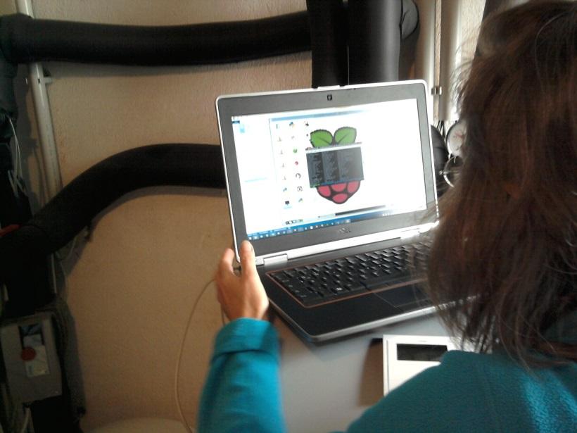 Working on the heat pump - Raspberry Pi adventures